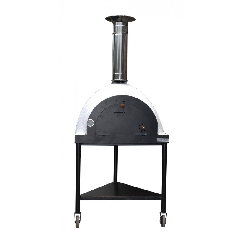 royal mobile wood fired pizza oven outdoor garden by. Black Bedroom Furniture Sets. Home Design Ideas