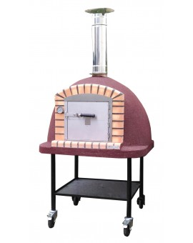 PORTABLE VULCANO WOOD BURNING PIZZA OVEN