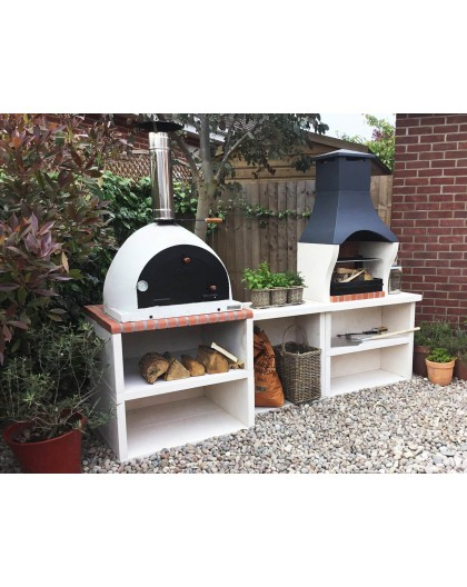 Outdoor Kitchen BBQ & Pizza Oven - XCLUSIVEDECOR.COM |+44 ...